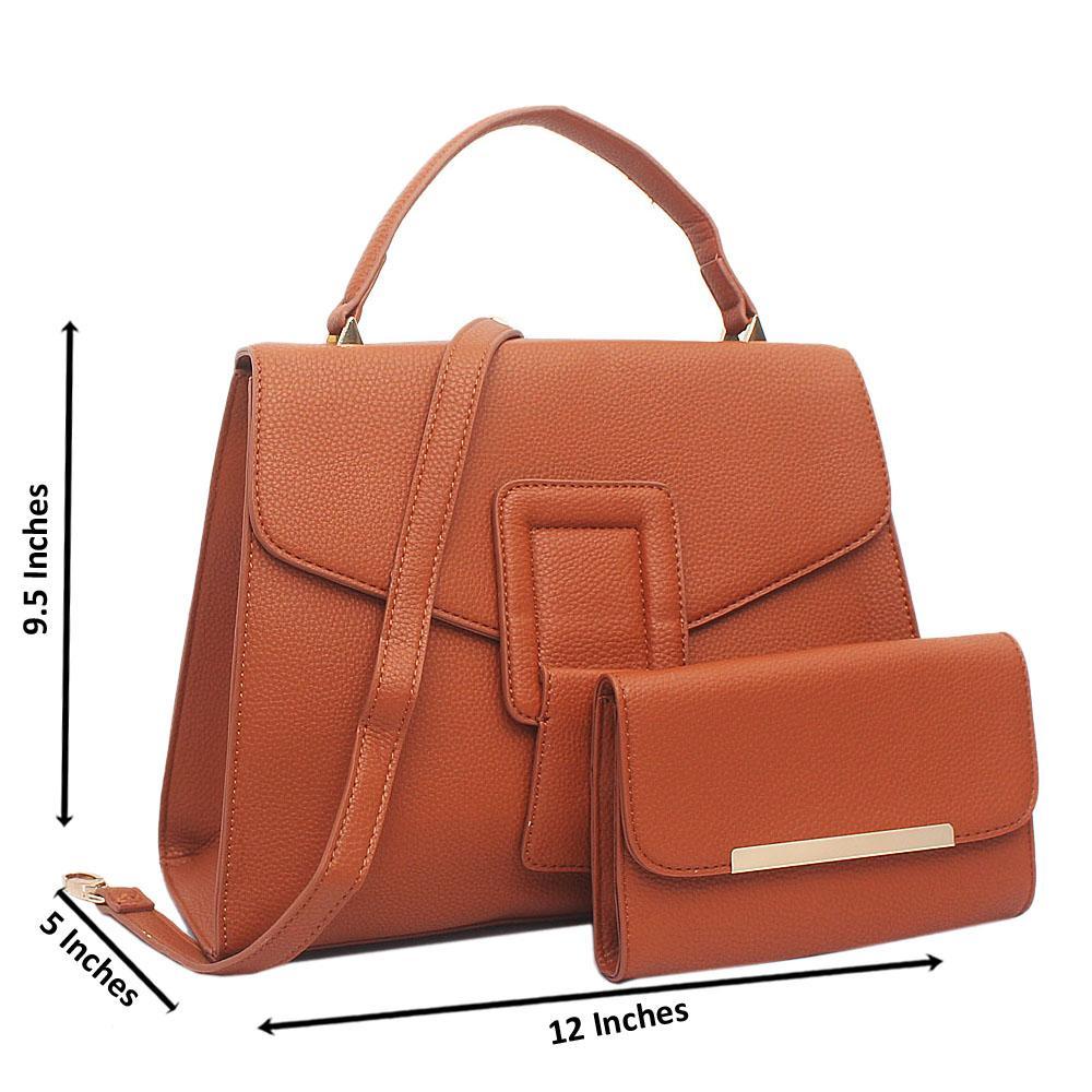 Brown-Blossom-Medium-Leather-Handbag