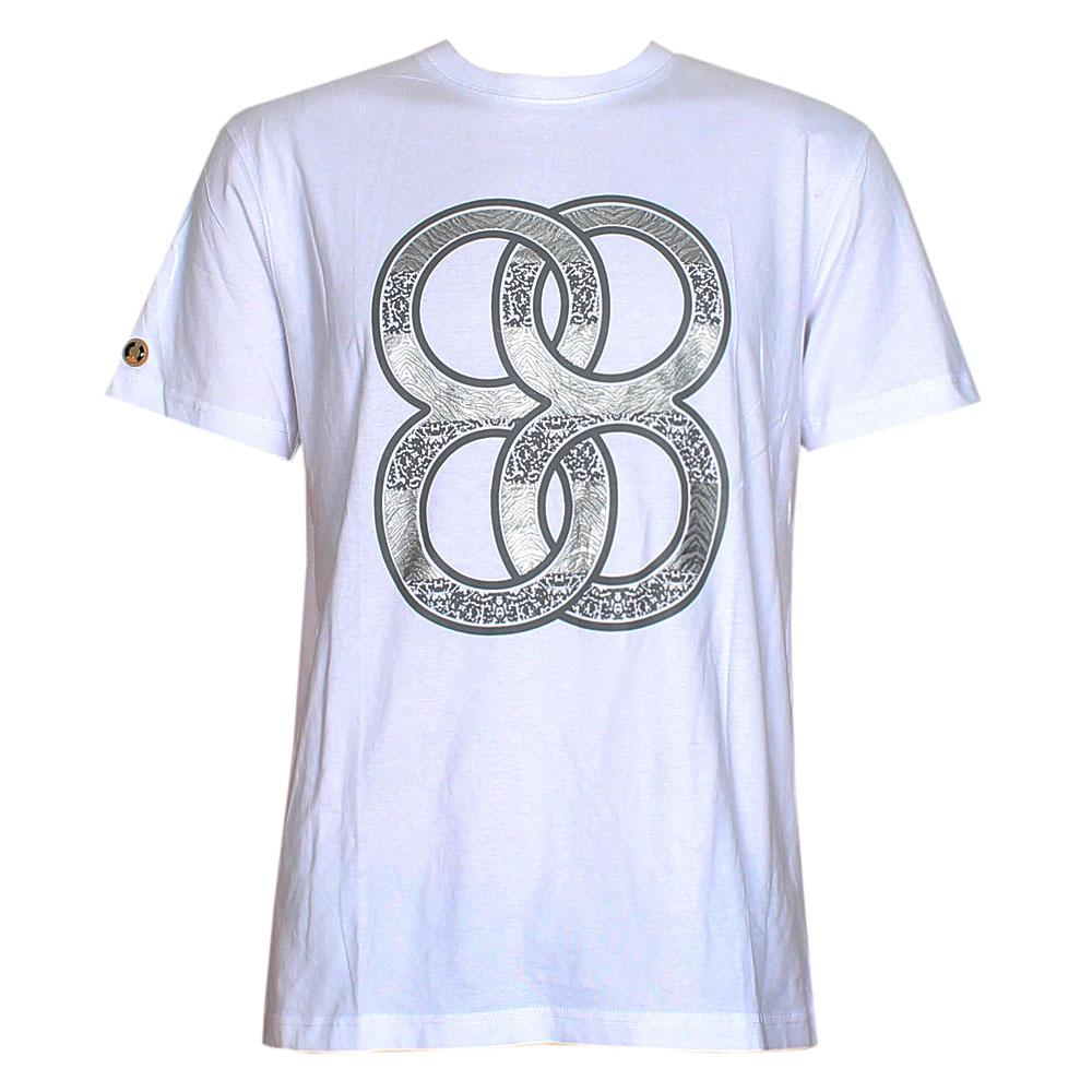 Superday White Graphic Print Men T-Shirt
