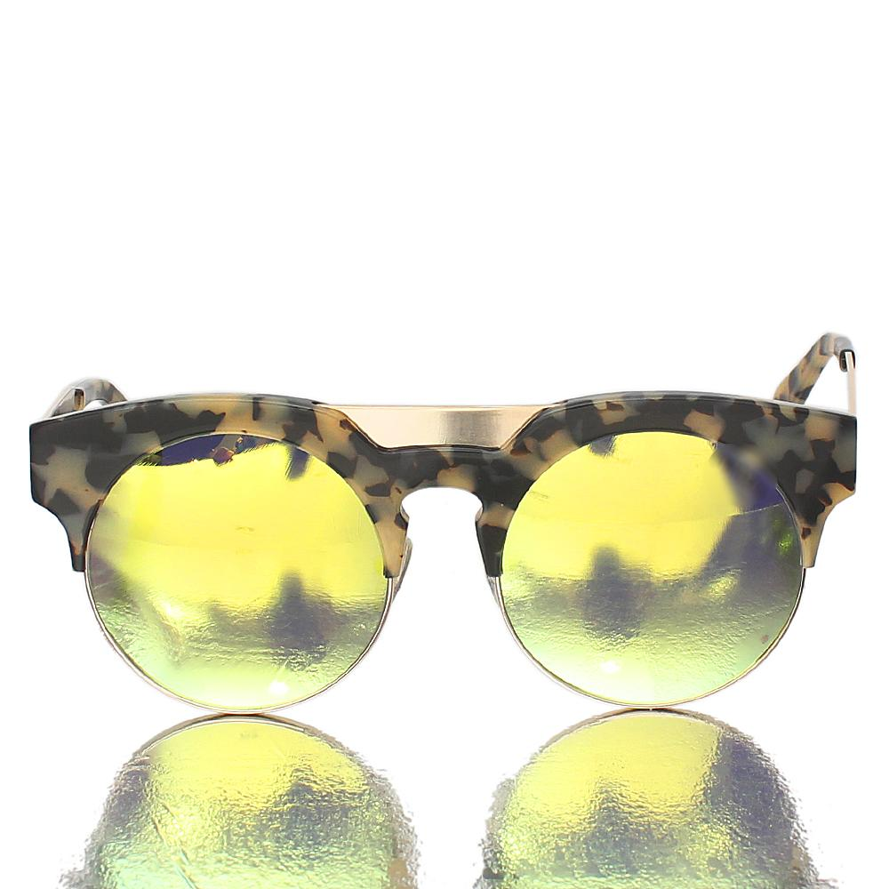 Gold Mix Club Exec Sunglasses-