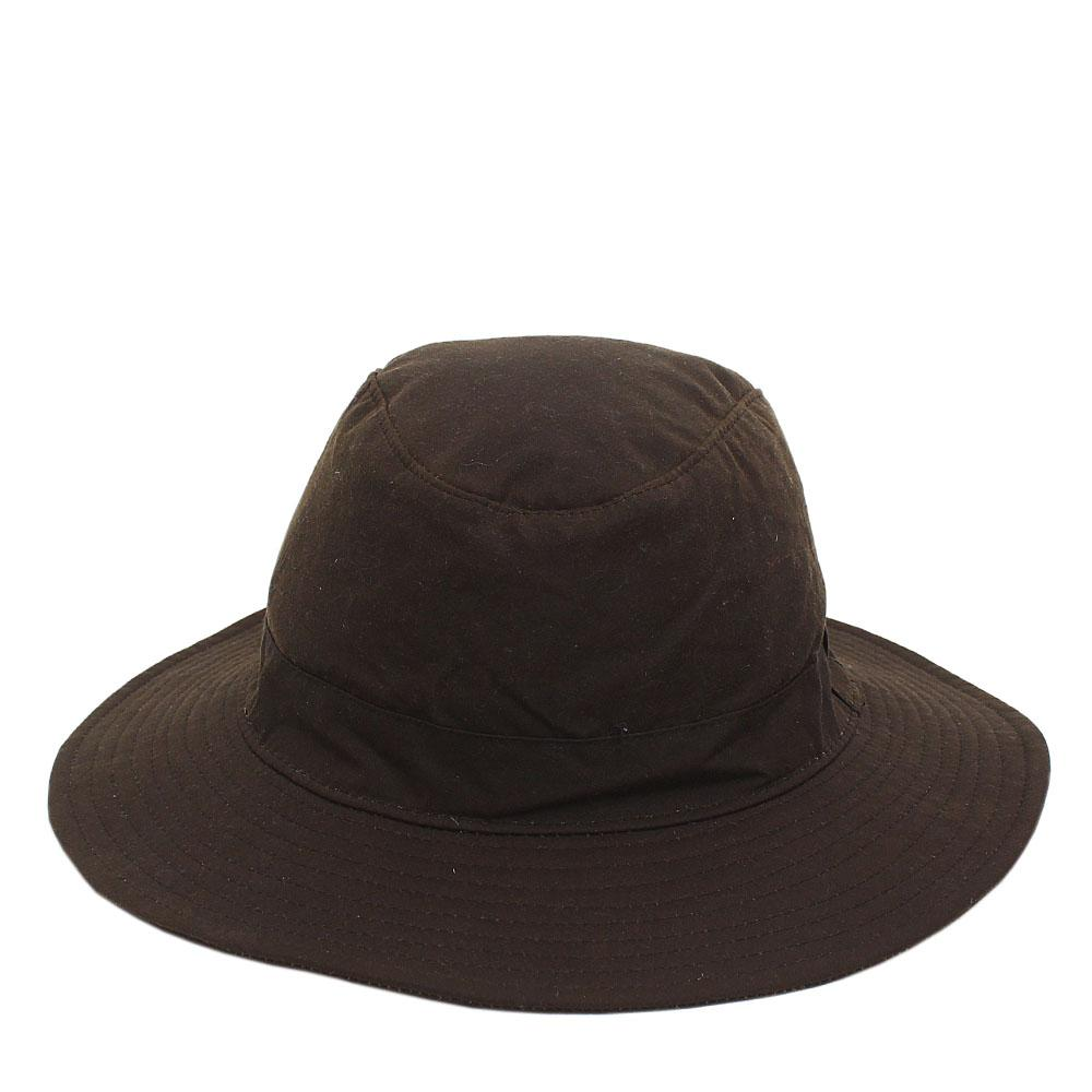 M&S Coffee Cotton Sun Protection Hat Sz L