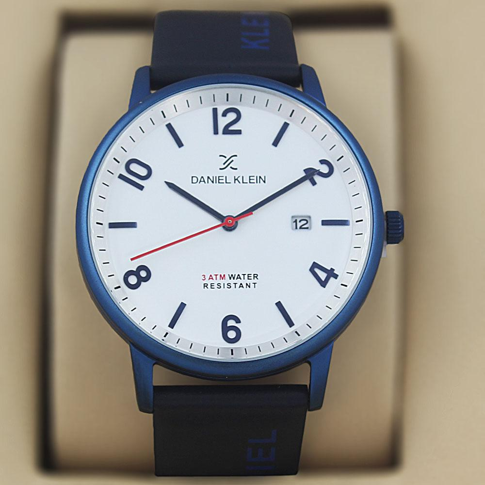 Daniel Klein Olympus Navy Leather Classic Series Watch