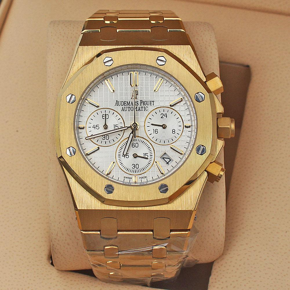 Gold Men Watch -comes in wholesale case