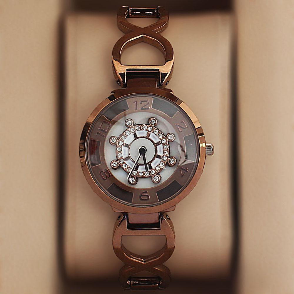 Bronze Spinners Ladies Watch