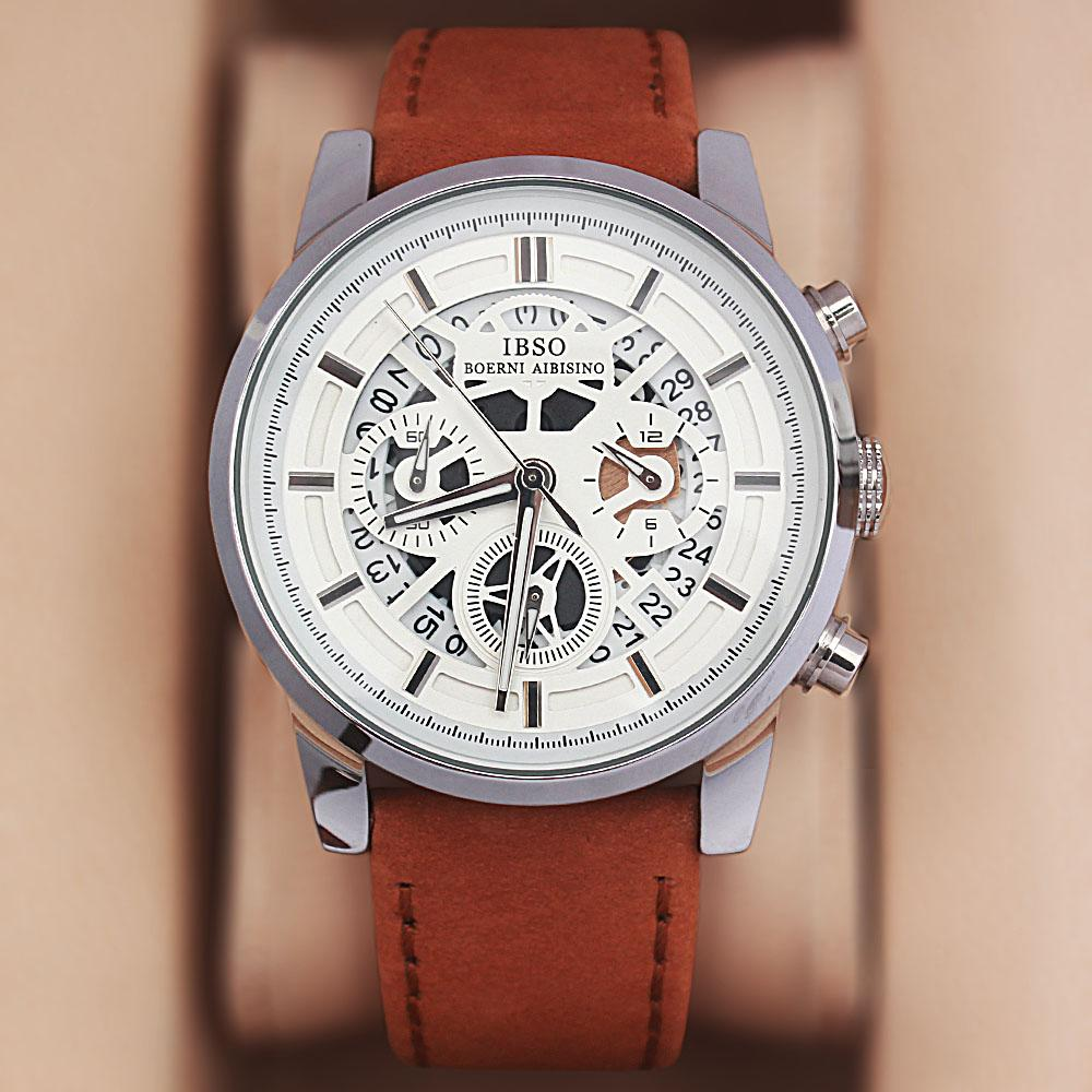 Generic Brown Leather Watch