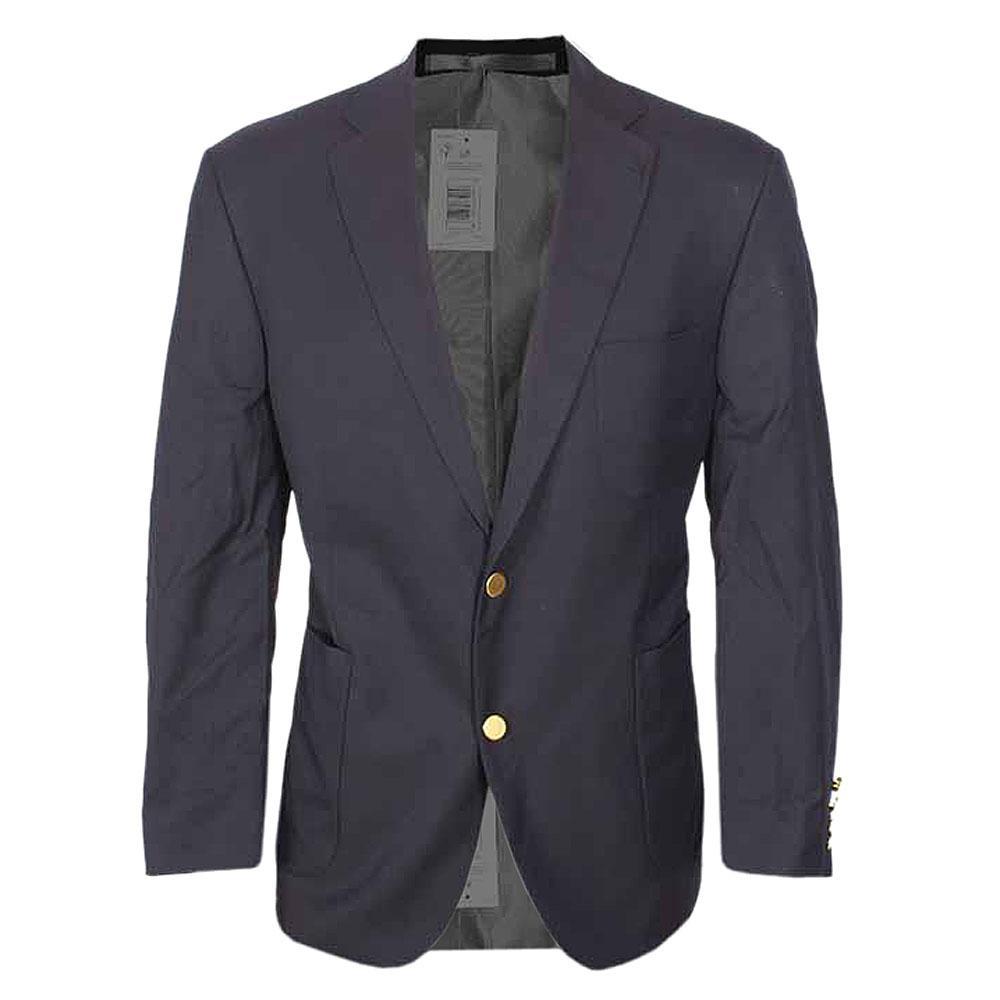 M & S Collection Deep Blue Regular Fit Men  Blazer L 30-Chest 38