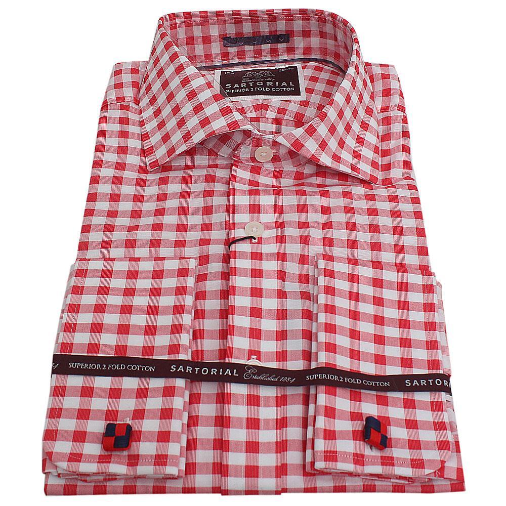 Sartorial Pink L/Sleeve Regular Fit Men Shirt Sz 15.5