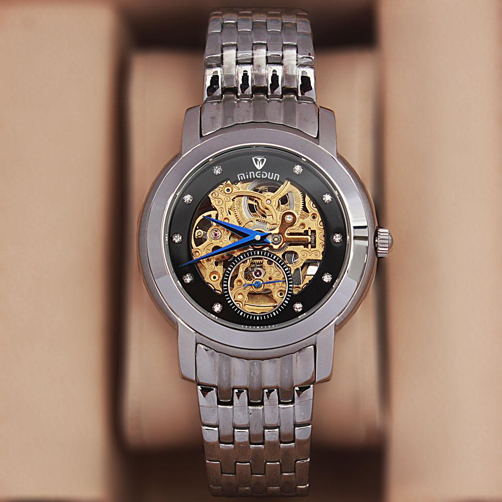 Shanghai Marcello Silver Stainless Steel Automatic Watch