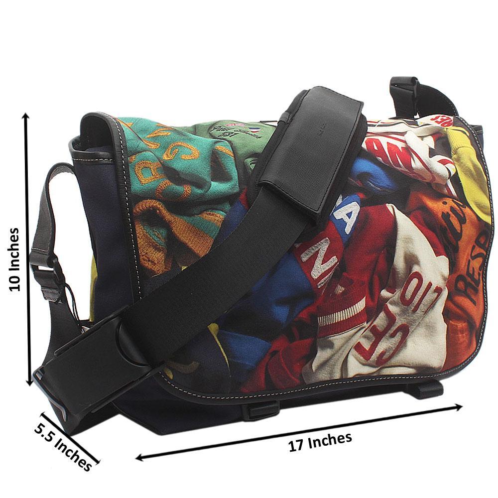 Paul SmithVintage Print Fabric Messenger Bag