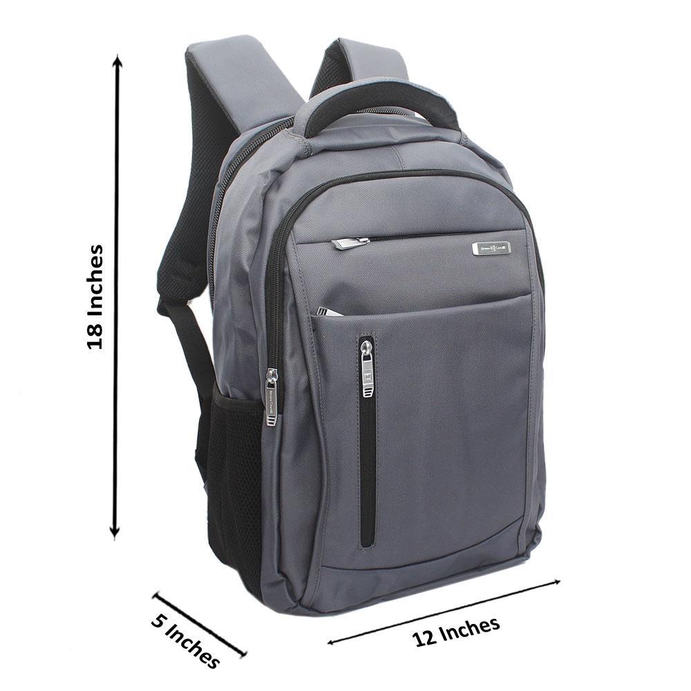Blue Side Zip Bruno Cavali Backpack