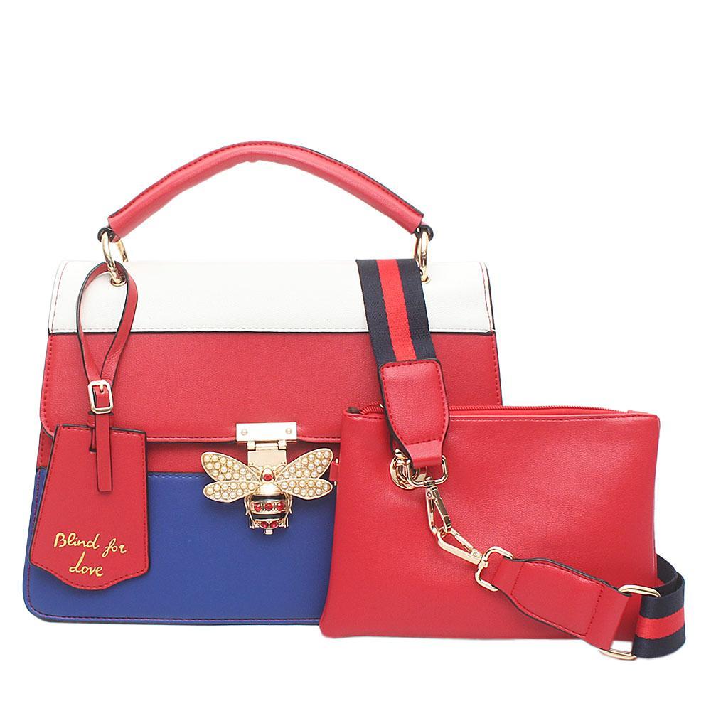 Evogue Multicolor Leather Q.M Small Bag
