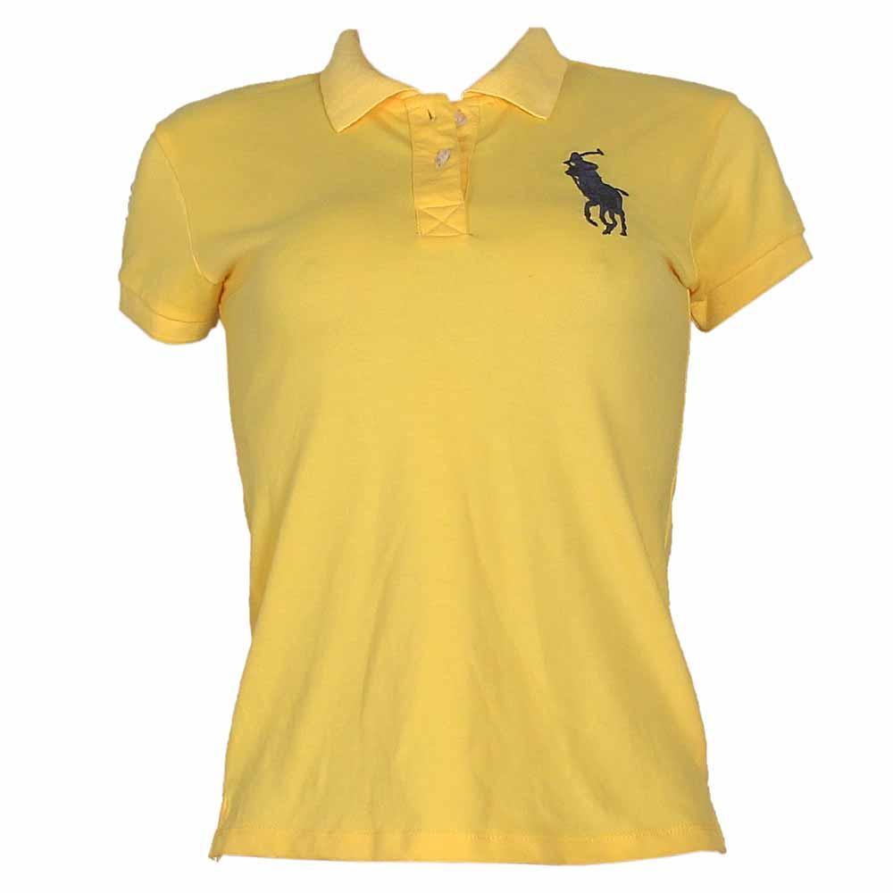 Polo Ralph Yellow Ladies Polo