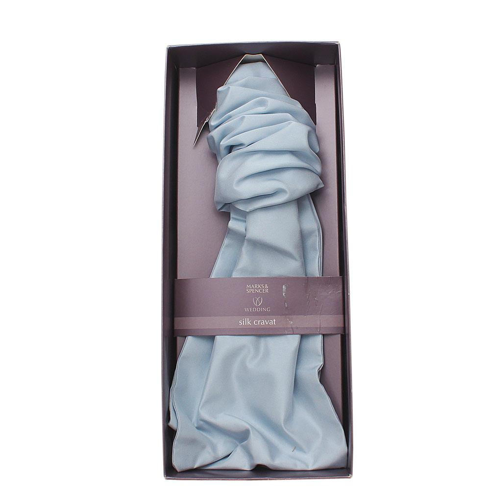 Marks & Spencers Blue Silk Cravat