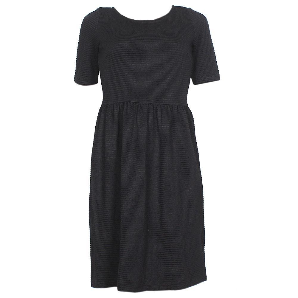 M&S Black  S/Sleeve  Lycra Dress