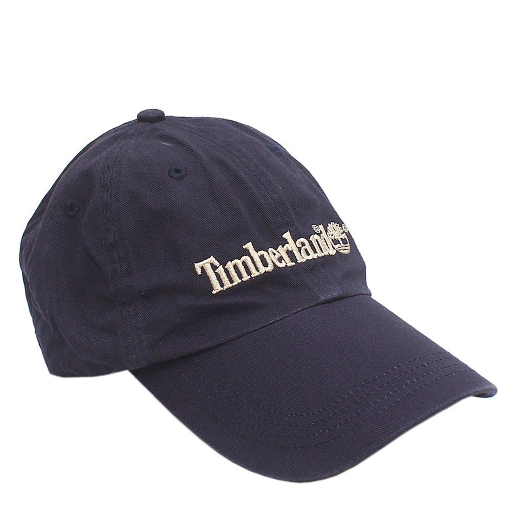 Timberland Navy Cotton Face Cap