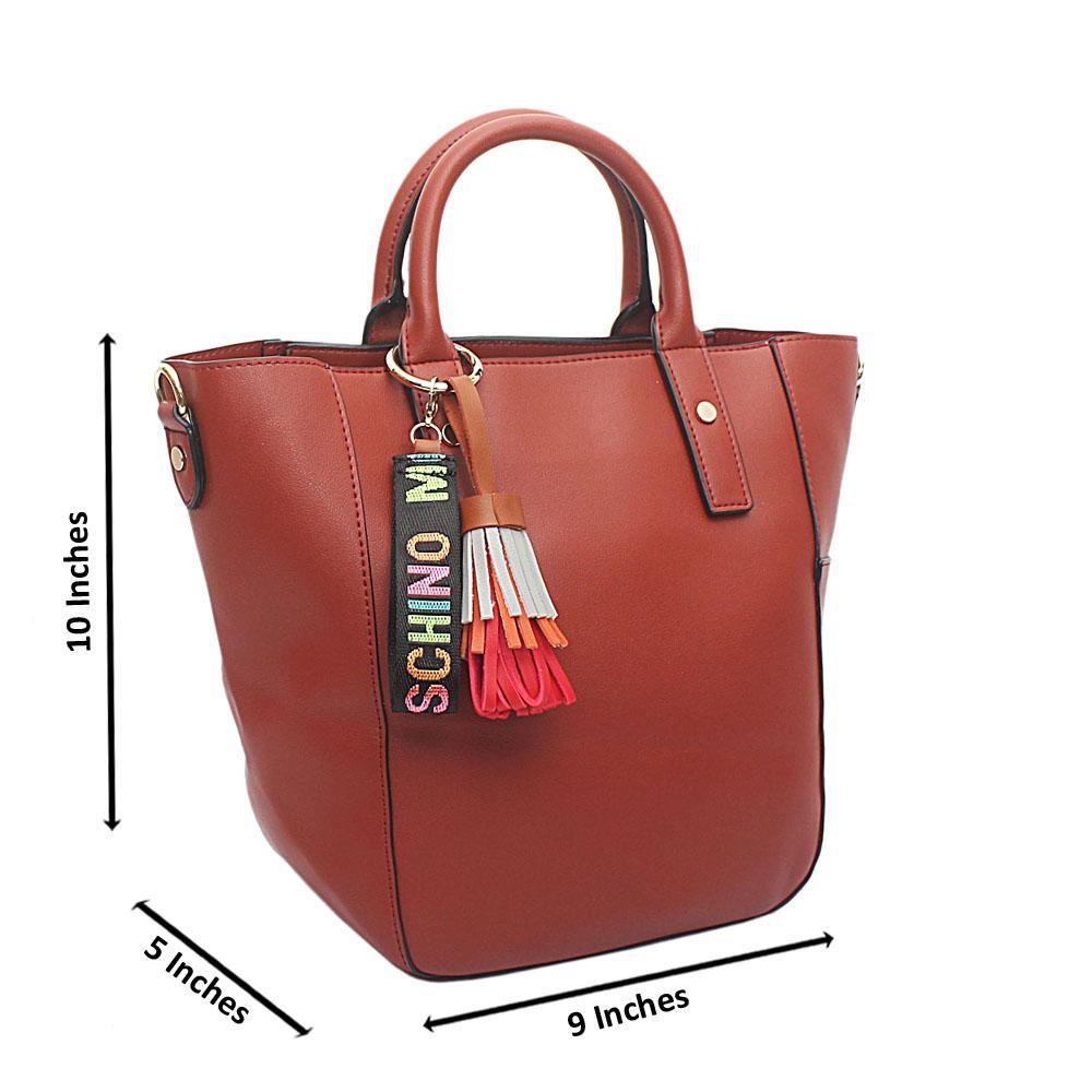Brown Omg Mediun Leather Handbag