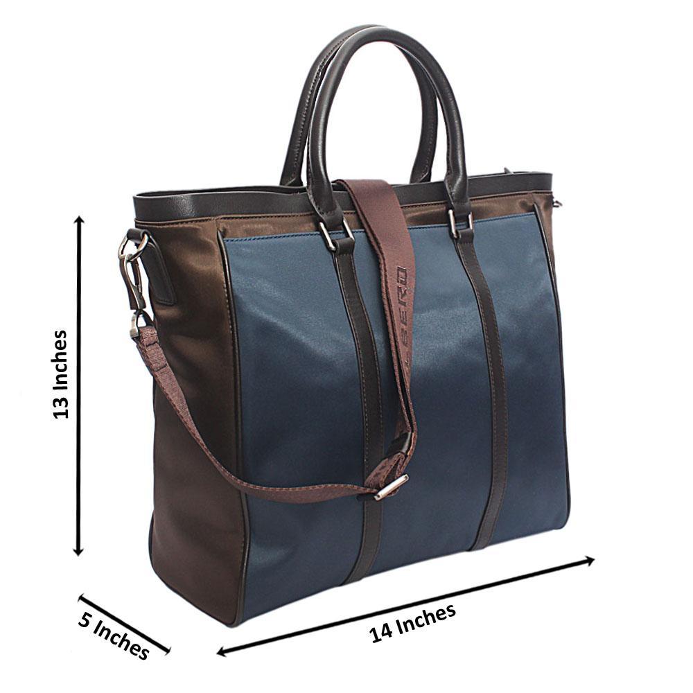 Saint Halberd Green Blue Cordura Fabric Man Bag