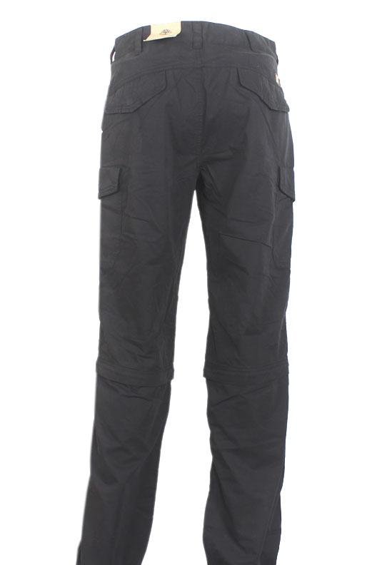 Timberland Black Cotton Men Trouser