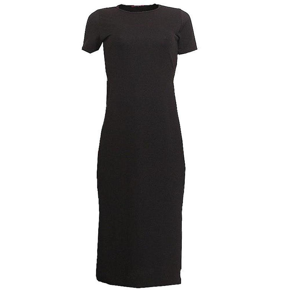 Missi Black Cotton Ladies Dress-S/M