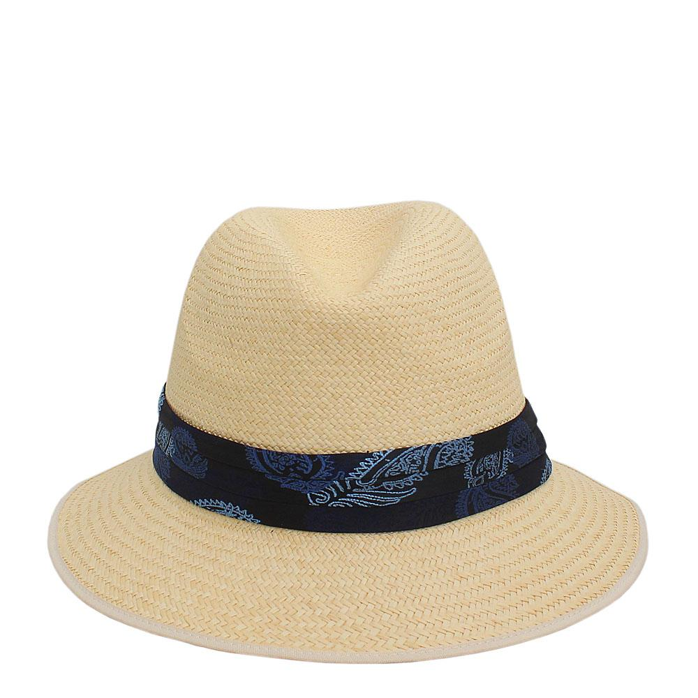 M&S Cream Genuine Handwoven Panama Hat Sz L