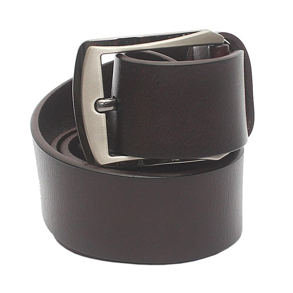 Brown Classic Leather Belt L 48 Inches
