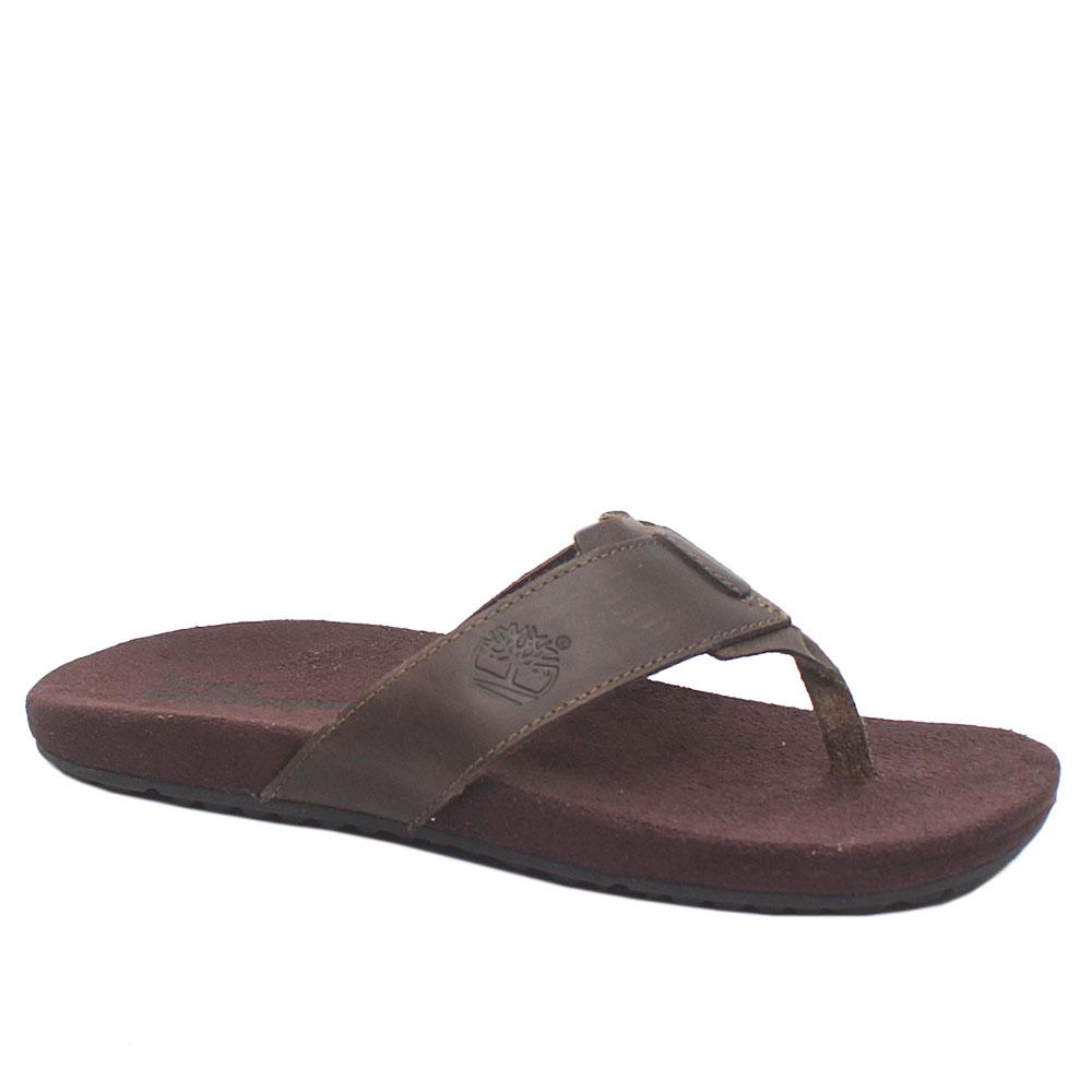Timberland Earthkeepers Coffee Leather Men Slippers