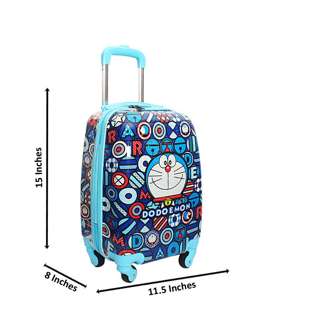 Blue Mix 9 Inches Carry On Children Luggage