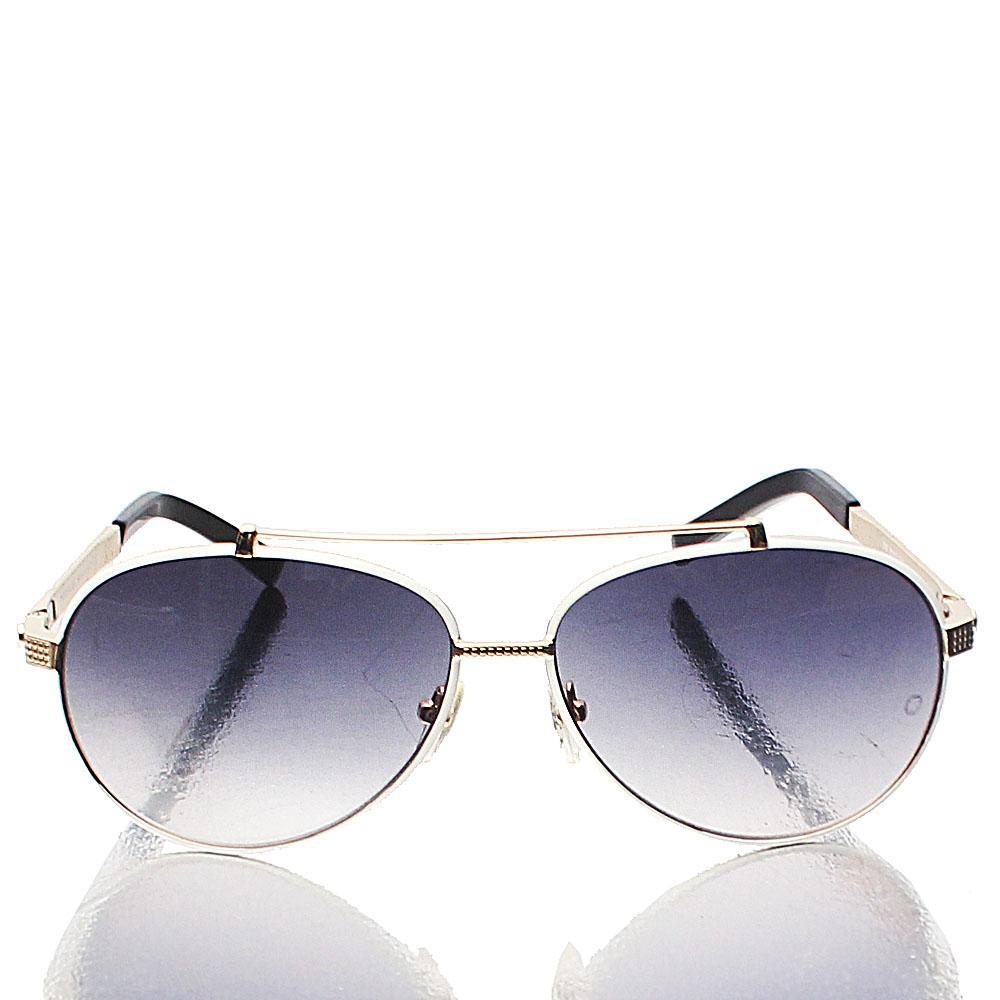Gold Coaters Aviator Dark Lens Sunglasses