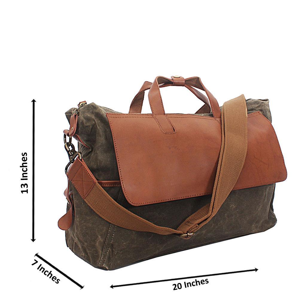 Army Green Water Proof Khaki Duffel Bag