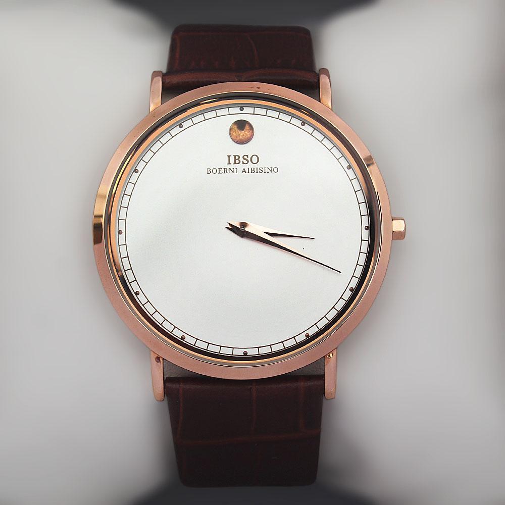 Vintage Brown Croc Leather Watch