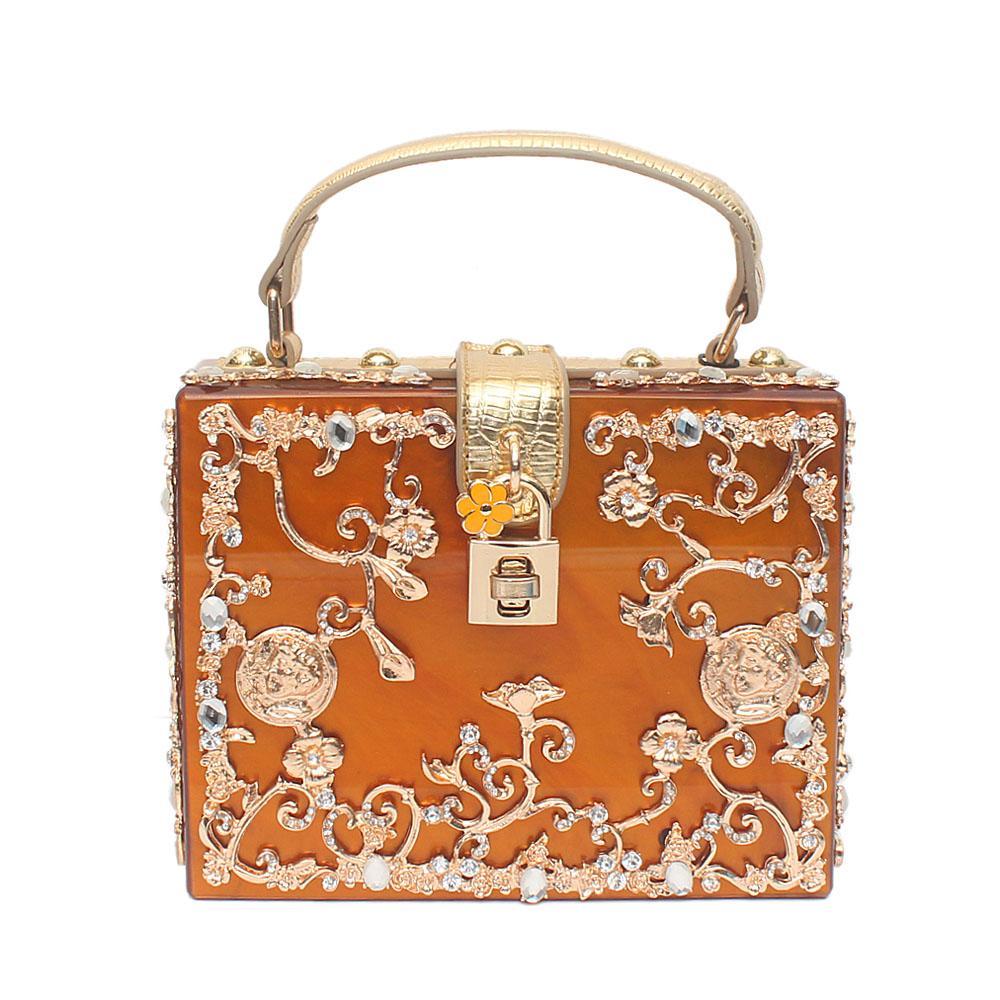 Emily Brown Plastic Box Bag