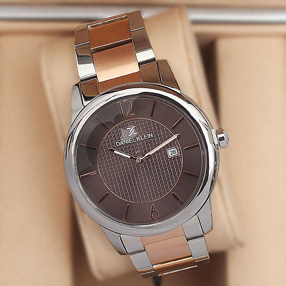 Daniel Klein Premium Classic Twin-Tone Fashion Watch