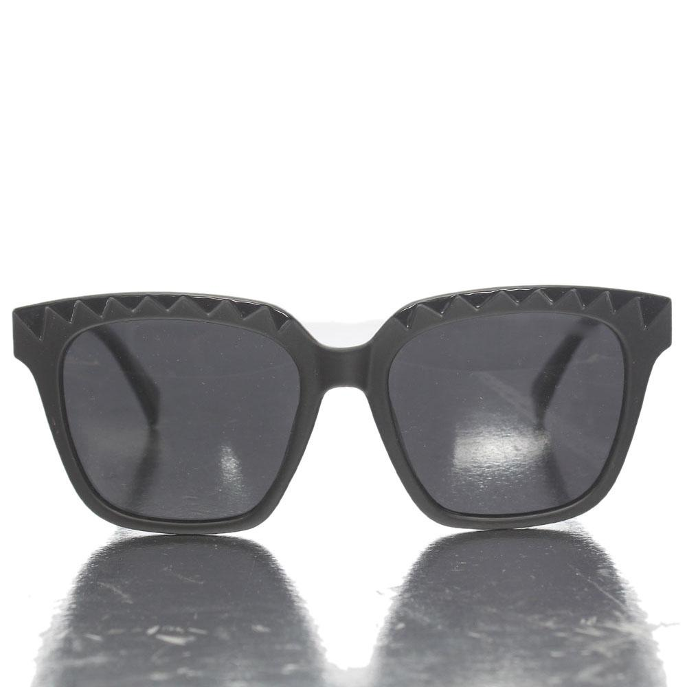 Black Square Face Sunglasses