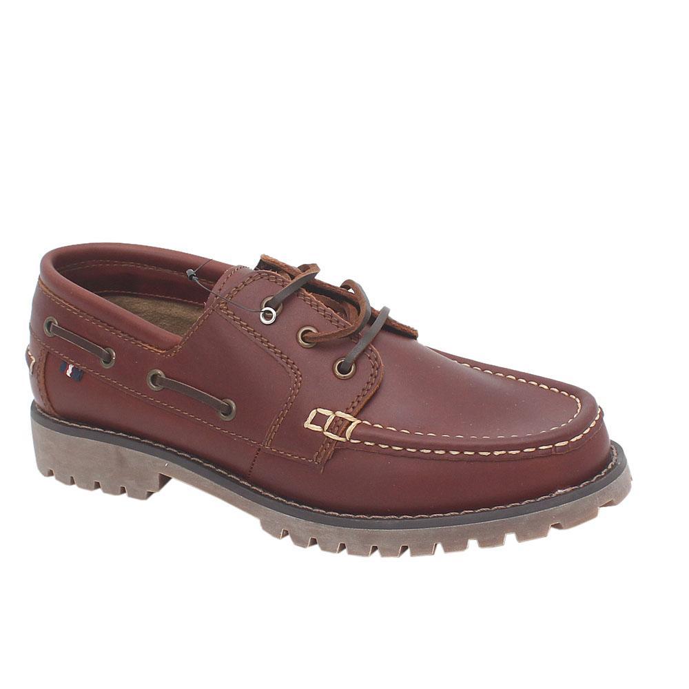 M&S Blue Harbour Brown Leather Lace-up Men Shoe Sz 43