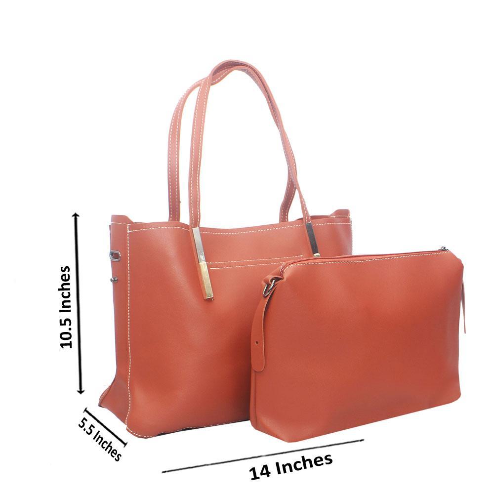 Brown Miane Tandy Leather Shoulder Handbag