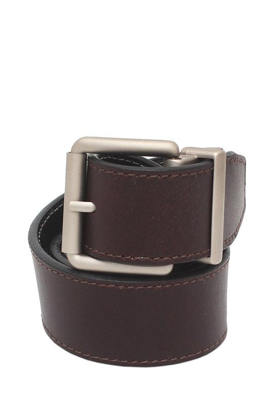 RockPort Brown Black Genuine Leather Men Reversible Belt