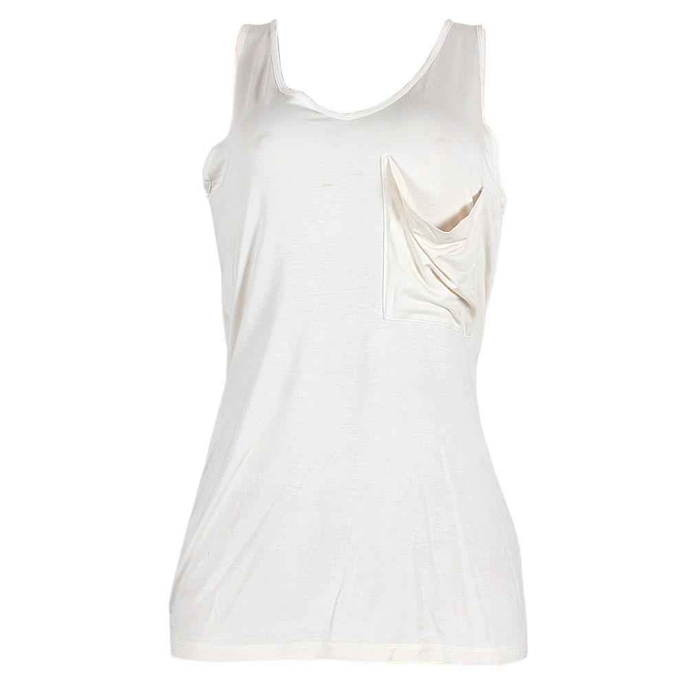 M & S Cream Ladies Vest Top Sz 14