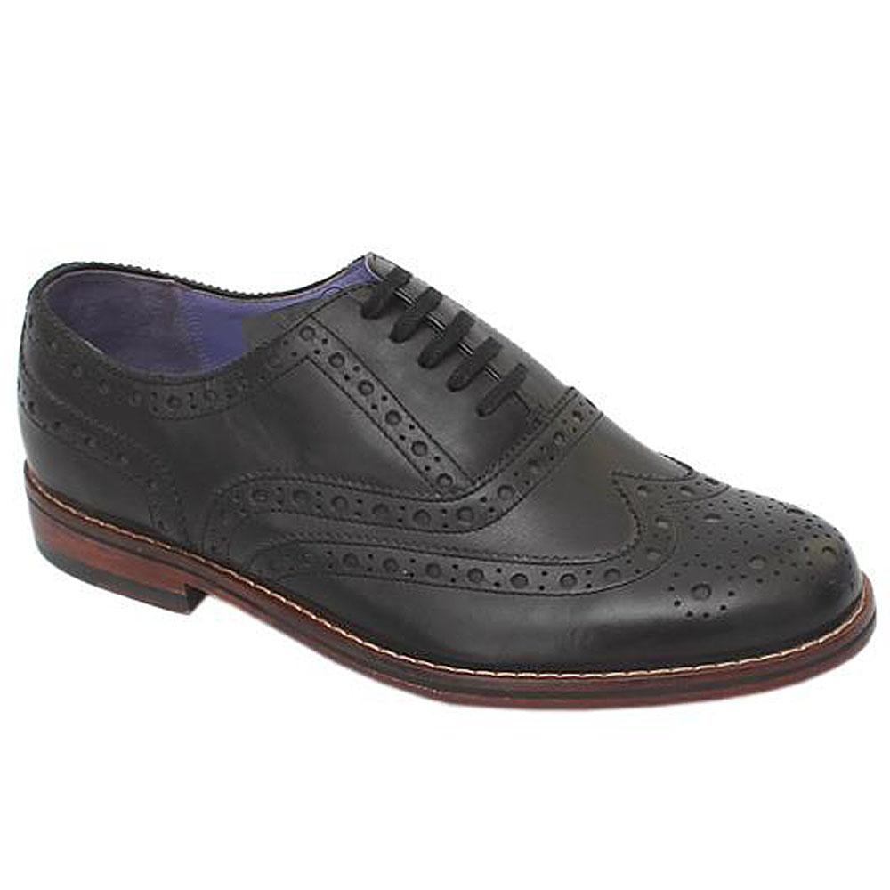 Marks & Spencer Autograph Black Leather Mens Shoe