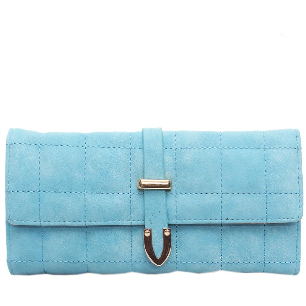 Nubuck-Sky-Blue-Leather-Ladies-Wallet