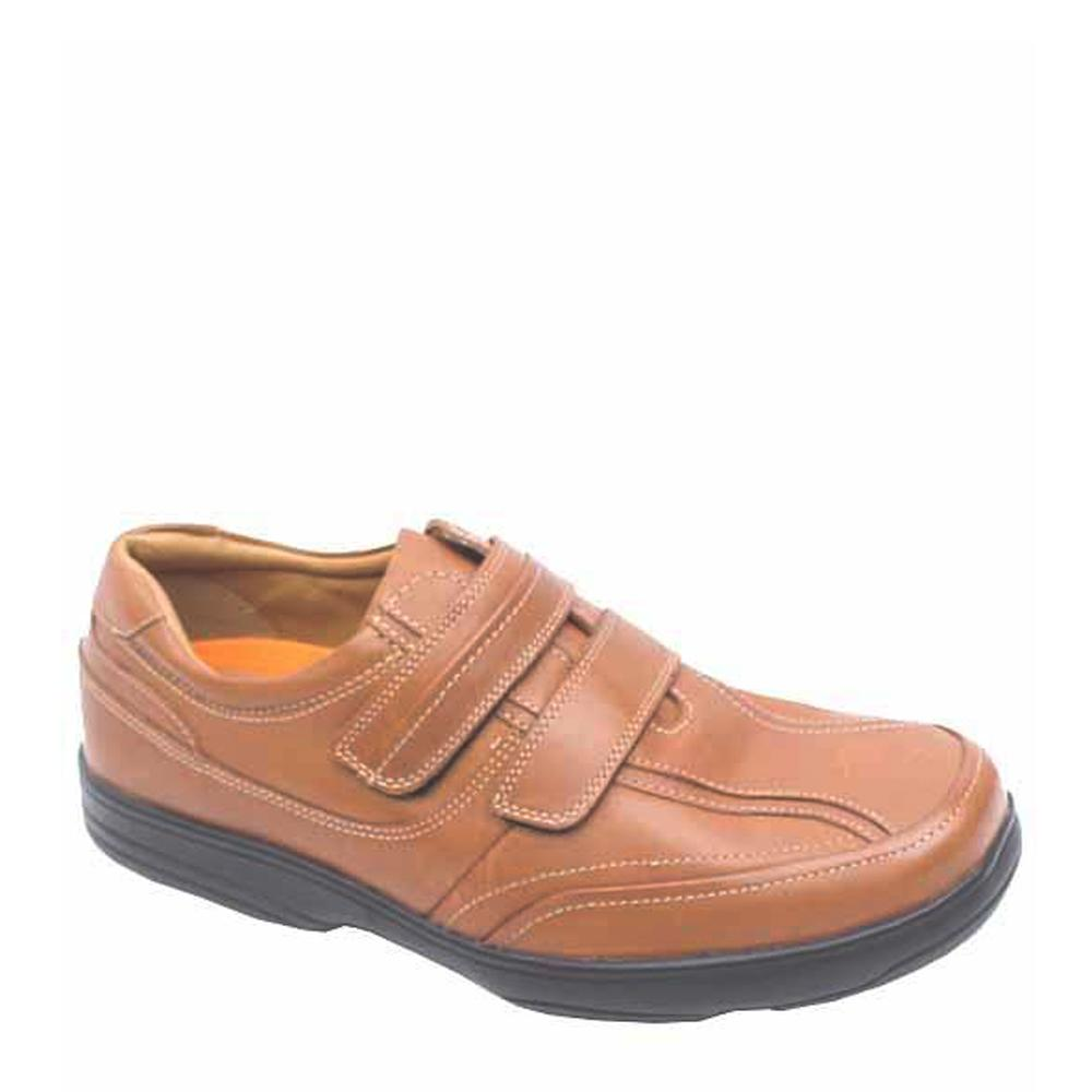 Airflex Brown Leather Men Loafers