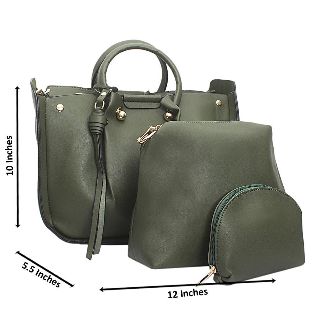 Green-Leather-Medium-Nice-Handbag