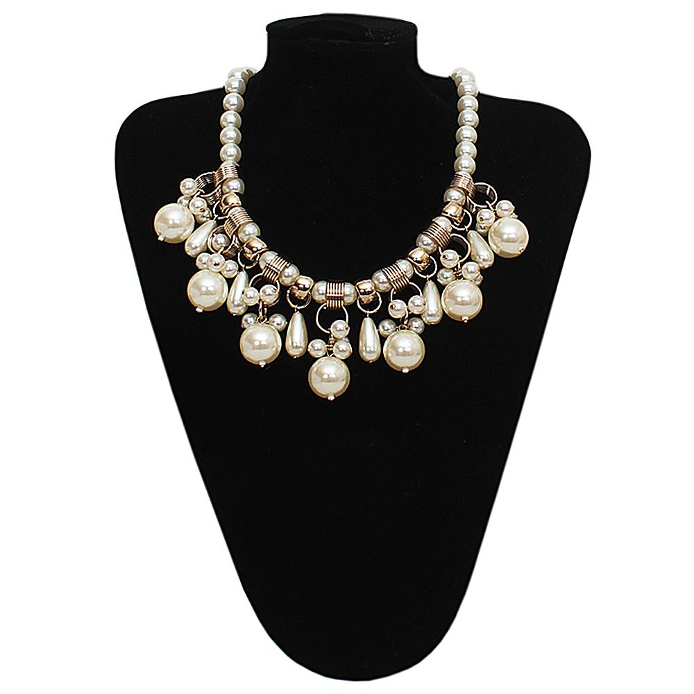 Per Una Cream Pearl Necklace -