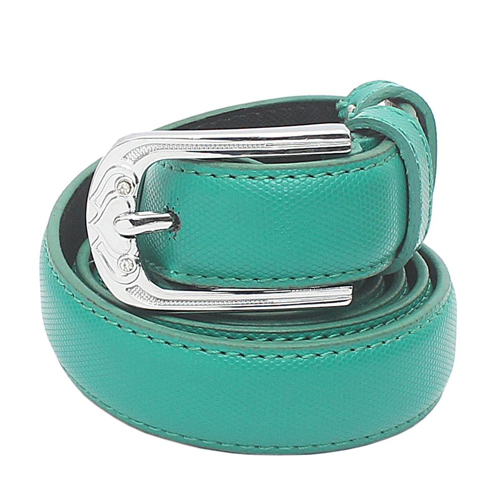 Green Premium Leather Ladies Belt L 45 Inches