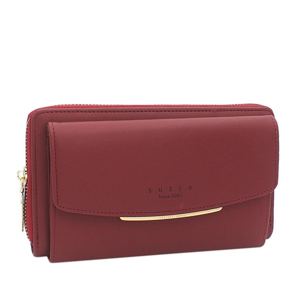 Susen-Wine-Panamera-Leather-Ladies-Wallet
