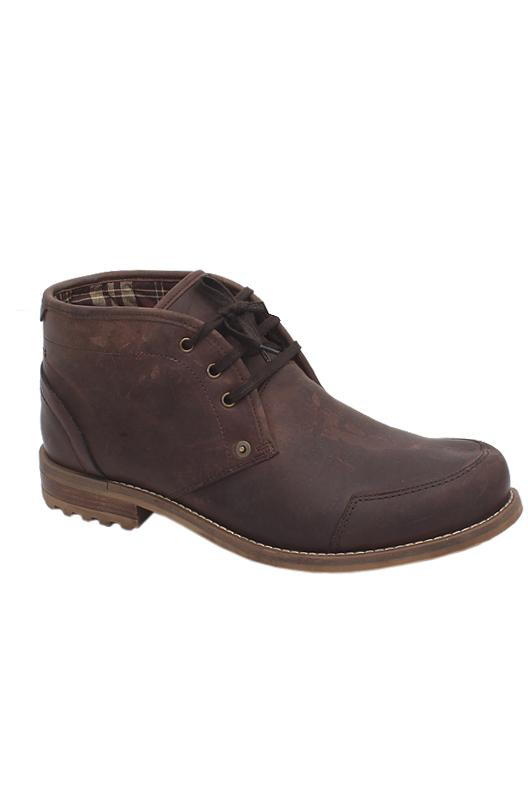 M&S North Coast Brown Lace Up Men Boot