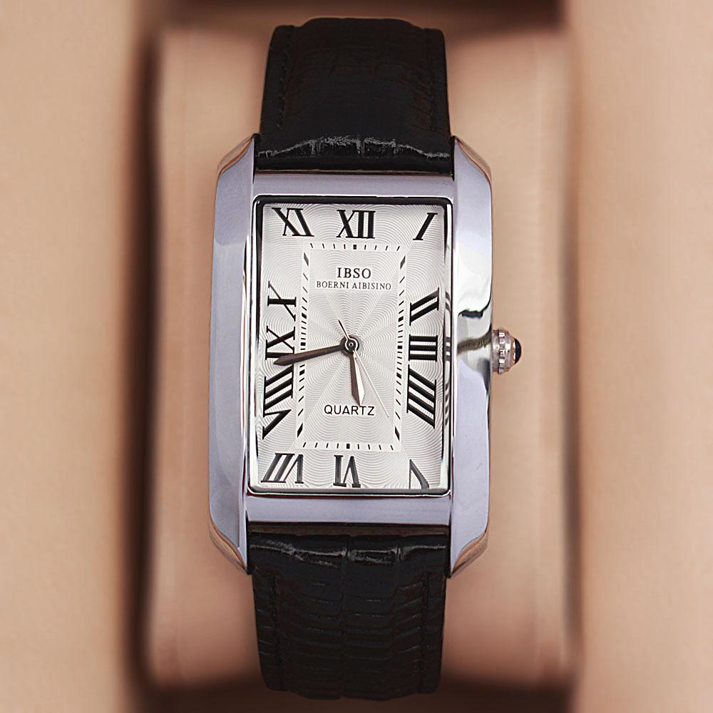 Camil Love White Black Leather Classic Ladies Watch
