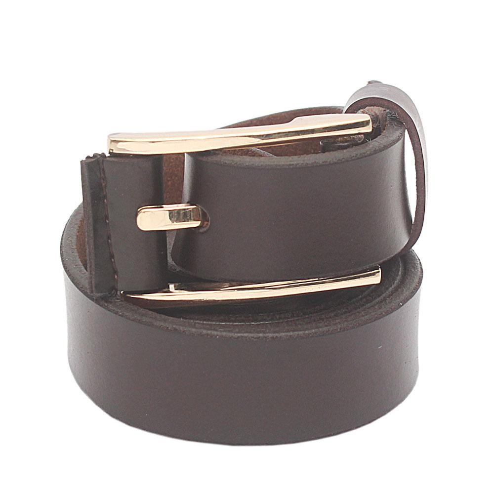 Brown Rose Premium Leather Ladies Belt L 43 Inches