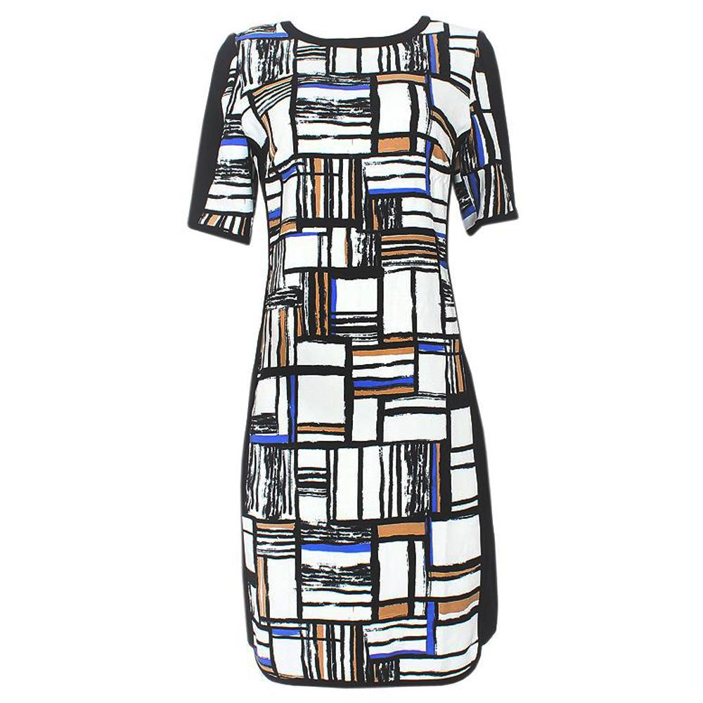 M & S Collection Multicolor S/Sleeve Dress-Uk 20
