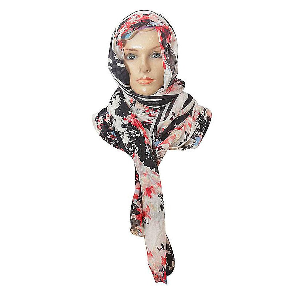 M-n-S-Black-Mixed-Ladies-Scarf-One-Size