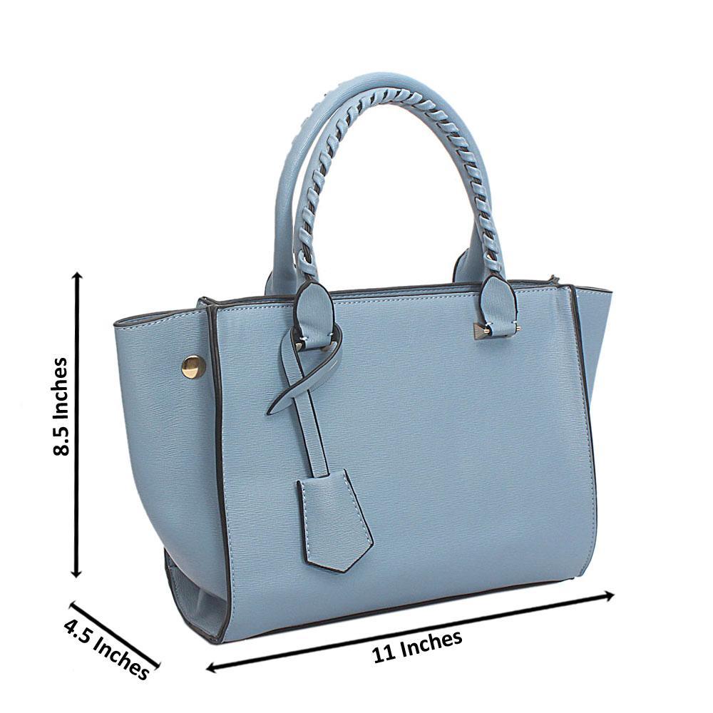 Sky Blue Leather Swift Barbie Handbag