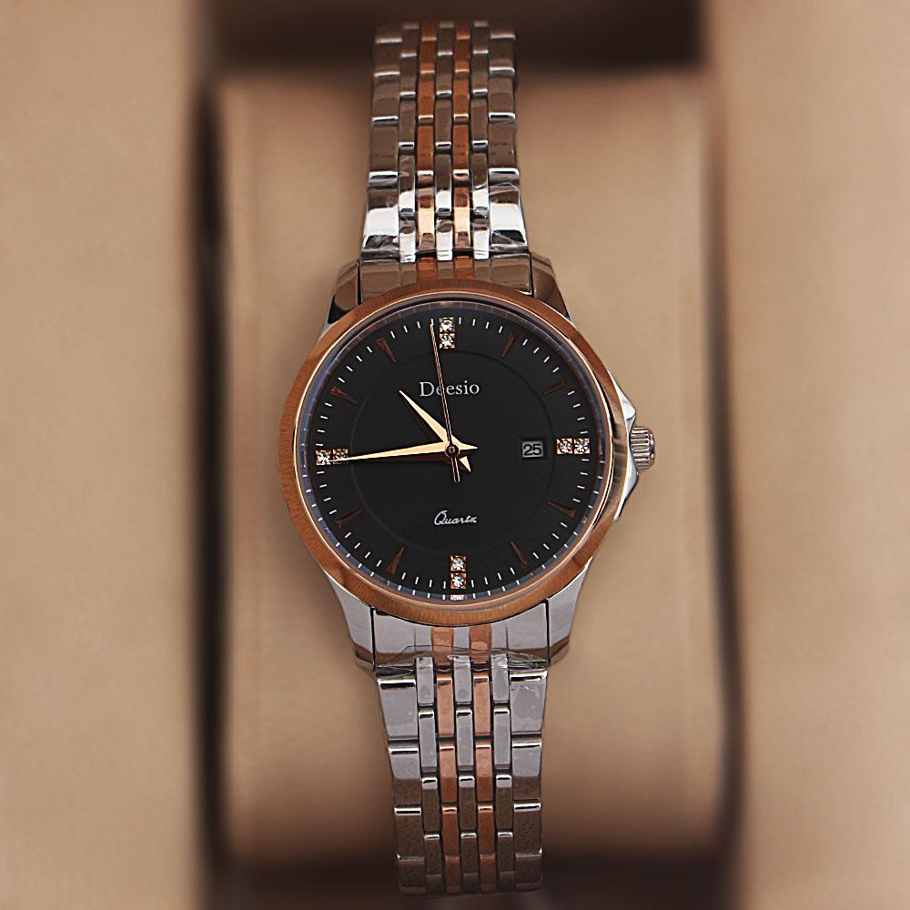 Deesio 2-Tone Steel Ladies Watch